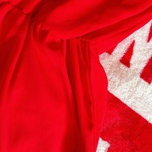 pixi +iv Pants - Very nice red romper